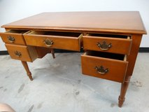 Solid Wood 4-Drawer Desk in Alvin, Texas