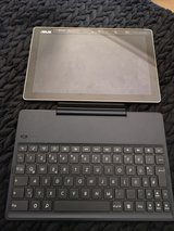 Asus ZenPad 10 with Bluetooth keyboard in Ramstein, Germany