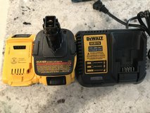 Dewalt batteries and charger in Warner Robins, Georgia