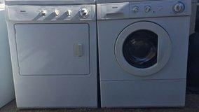 Kenmore small front load washer and electric dryer set in Alamogordo, New Mexico