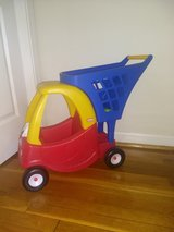 Cozy Coupe shopping cart in Fort Leonard Wood, Missouri