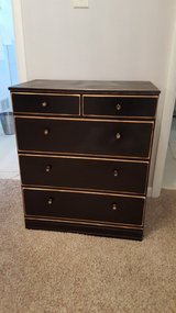 Black chest of drawers, 32H, 15W, 26.5L in Wright-Patterson AFB, Ohio