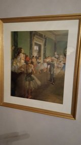 Ballerina print, green, 28x32 in Wright-Patterson AFB, Ohio