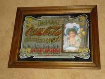 "coca cola mirror 23"" x 29"" in Naperville, Illinois"