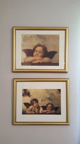 2 Angel pictures, 12x15.5 in Wright-Patterson AFB, Ohio