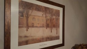 House picture in tans, 27x35 in Wright-Patterson AFB, Ohio