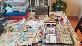 Large scrapbooking collection in Lockport, Illinois