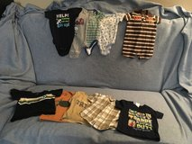 Baby boy summer clothes size 3 months and 3-6 months in Camp Lejeune, North Carolina