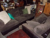 Two Piece Micro-Fiber Sofa and Chair Set in Fort Riley, Kansas