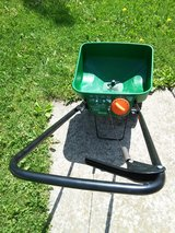 lawn and yard treatment spreader. In Naperville in Naperville, Illinois