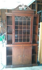 Antique Curio cabinet in Naperville in Glendale Heights, Illinois