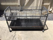 bunny cage, wire in Vacaville, California