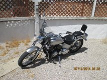 Motorcycle in Yucca Valley, California