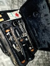 Clarinet and Case in Alamogordo, New Mexico