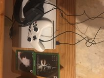 Xbox one S, Controller, Battery charger for controller, 2 games, Astros a10 wired headphones. in Fort Leonard Wood, Missouri