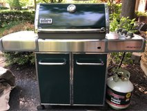 WEBER GENESIS. PROPANE W/ 2 Tanks & Cover in Naperville, Illinois