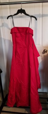 Red Evening Gown in Fort Hood, Texas