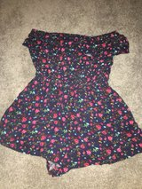 floral strapless romper in Naperville, Illinois