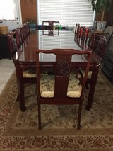 Dining Set with 10 chairs in Vacaville, California