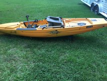 Hobie Pro Angler 14 with mirage drive in Fort Polk, Louisiana