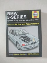1996-2003 BMW 5-series Auto Mechanic Book in Osan AB, South Korea