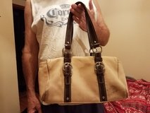 Tan Coach Purse in Joliet, Illinois