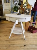 refinished Drum table in Morris, Illinois