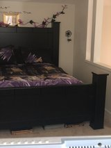 Queen size bed with mattress in Bellaire, Texas