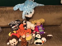 Soft toy/doll/ puppet lot in Okinawa, Japan
