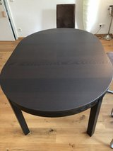 Wooden IKEA table - extendible! in Spangdahlem, Germany