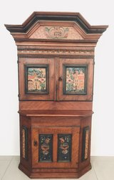 Old cupboard 1778 in Ramstein, Germany