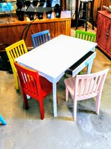 child's play desk & 5 chairs in Cherry Point, North Carolina
