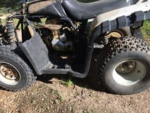All four tires off a 250cc four wheeler in Leesville, Louisiana