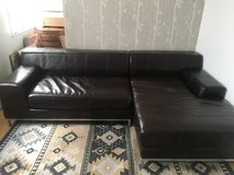Sofa: Leather Sectional (2pc) in Bolling AFB, DC