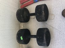 85 lbs dumbbells  2 ea in Okinawa, Japan