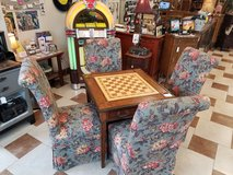 Designer Chairs and Game table in Fort Leonard Wood, Missouri