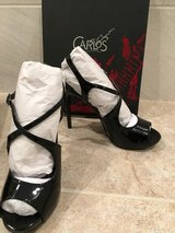 Patent leather pumps in Camp Pendleton, California