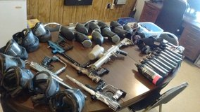 Paint ball gun and accessories in Fort Polk, Louisiana