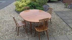 Extendable Table & Chairs in Lakenheath, UK