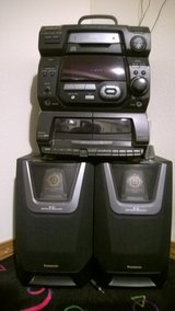 Sony or Pansonic Stereo Systems w/ speakers in Fort Leonard Wood, Missouri