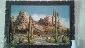 desert  painting in Yucca Valley, California
