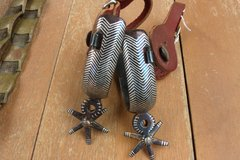 Western Silver Inlay Spurs in Alamogordo, New Mexico