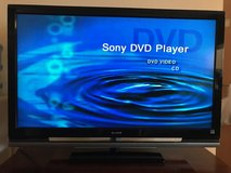 52-inch Sony Bravia KDL-52V4100 LCD TV and Sony DVP-NS300 CD/DVD Player Combo in Ansbach, Germany