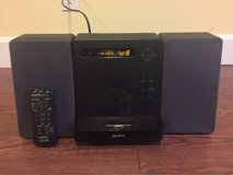 Sony Shelf System with CD Player, Radio, and 30 Pin iPod/iPhone Charger in Fort Leonard Wood, Missouri