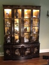 Hand Painted Cabinet in Glendale Heights, Illinois