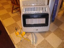 30,000 btu's natural gas heater with gas line in Oklahoma City, Oklahoma