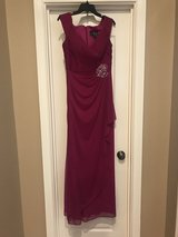 Fuchsia Alex Evenings Formal Gown- size 10 in Pleasant View, Tennessee