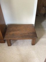 Short Wood Table in Cleveland, Texas