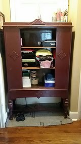 vintage cupboard in Fort Campbell, Kentucky