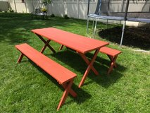 Picnic / Party Table & 2 benches in Orland Park, Illinois